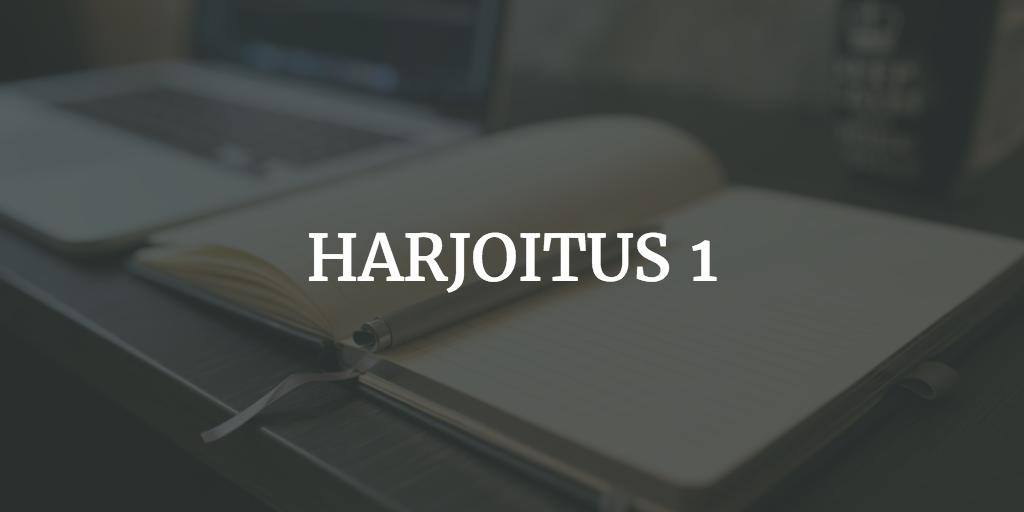 harjoitus-1